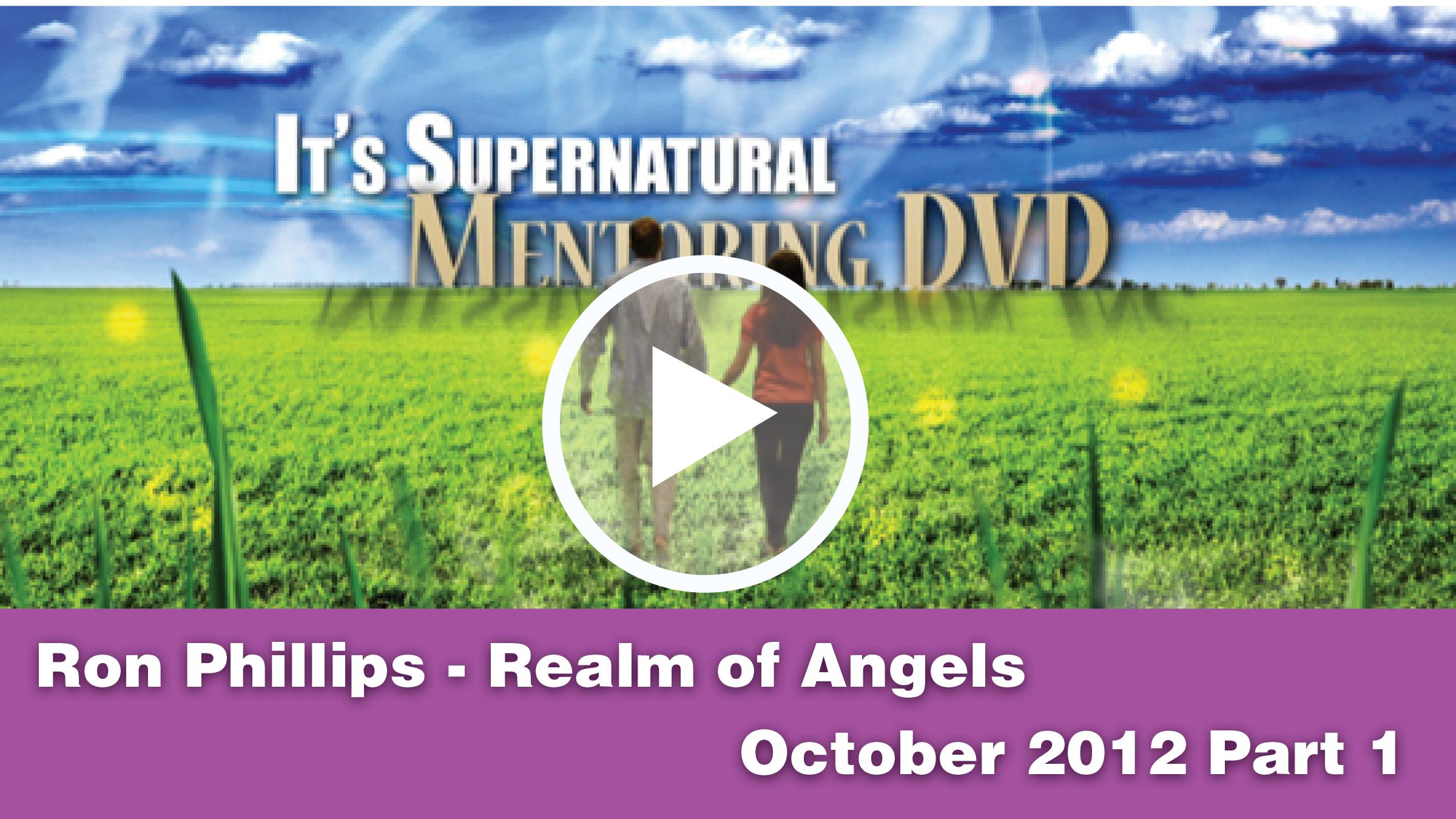Guest: October 2012 Mentoring DVD Part 1 of 2