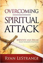 Overcoming Spiritual Attack (Book & 4-CD Set) by Ryan LeStrange; Code: 9438
