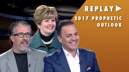 Replay of It's Supernatural! LIVE 2017 Prophetic Outlook