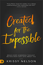 Created for the Impossible (Book, 3-CD Set & CD) by Krissy Nelson; Code: 9582