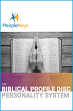The Biblical Profile: DISC Personality System & Your Supernatural Destiny (Workbook & 2-CD Set) by Dr. Sandy Kulkin; Code: 9579
