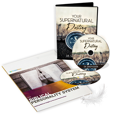 The Biblical Profile: DISC Personality System & Your Supernatural Destiny  (Workbook & 2-CD Set) by Dr  Sandy Kulkin