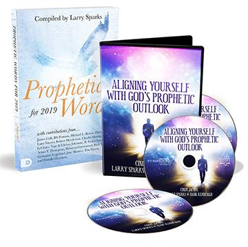 2019 Prophetic Outlook (3-CD Set & Book) by Larry Sparks, Cindy Jacobs,  Hank Kunneman
