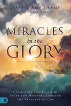 Miracles in the Glory (Book & 3-CD Set) by Jesse and Amy Shamp; Code: 9596