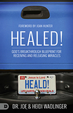 Healed & You Can Walk in Victory (Book & 3-CD Set) by Dr. Joe Wadlinger; Code: 9623