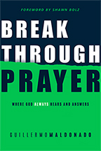 Breakthrough Prayer (Book, Journal & CD) by Guillermo Maldonado; Code: 9624