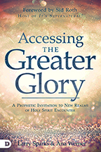 Glory Now (Book & 4-CD Set) by Larry Sparks & Ana Werner; Code: 9630