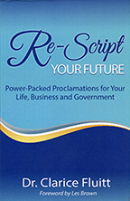 Re-Script Your Future (2 Books & 2-CD Set) by Dr. Clarice Fluitt; Code: 9627