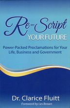Re-Script Your Future (2 Books & 2-CD Set) by Dr. Clarice Fluitt; Code: 9627