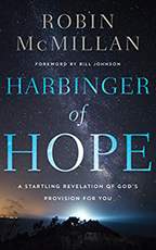 Harbinger of Hope (Book, 3-CD Set & Bookmark) by Robin McMillan; Code: 9659