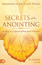 Secrets of the Anointing (Book & 4-CD/Audio Series) by Michelle Corral; Code: 9677