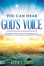 My Time with Jesus Concerning Your Future & You Can Hear God's Voice (4-CD/Audio Series & Book) by Kevin Zadai; Code: 9703
