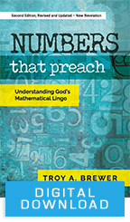 Numbers That Preach (Digital Download) by Troy Brewer; Code: 3613D