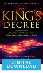 The King's Decree & Releasing Heaven's Decrees (Digital Download) by Jodie Hughes; Code: 9704D