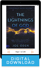 The Lightnings of God package (Digital Download) by Joe Oden; Code: 9689D