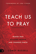 Teach Us to Pray & Experiencing Heaven's Throne Room (Book & 3-CD/Audio Series) by Corey Russell; Code: 9724