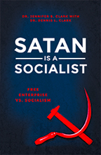 God's Plan to Prosper & Satan Is a Socialist (Book & 3-CD/Audio Series) by Dr. Jennifer Clark; Code: 9721