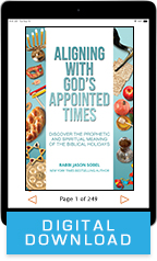 Aligning with God's Appointed Times & Decade of Breakthrough (Book & 3-CD/Audio Series) by Rabbi Jason Sobel; Code: 9749D