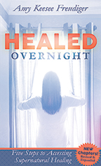 Healed Overnight, Healing Dare & Rise and Be Healed (2 Books & 2-CD/Audio Series) by Amy Freudiger; Code: 9751