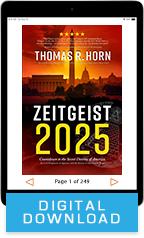 Zeitgeist 2025 (Digital Download) by Tom Horn; Code: 3732D - Sid Roth – It's Supernatural! | sidroth.org