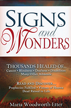 Signs and Wonders & Knowing the Voice of God (Book & 3-CD Series) by Maria Woodworth-Etter and Glenda Jackson; Code: 9256