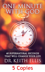 One Minute with God Book (5 Copies) by Keith Ellis; Code: 9330