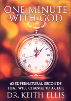 One Minute with God Book (1 Copy) by Keith Ellis; Code: 1973